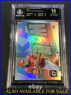 Baker Mayfield 2018 Panini Contenders Championship Ticket Rc 1/1 Psa/dna 10 Auto