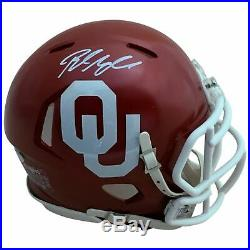 Baker Mayfield Autographed Oklahoma Sooners Heisman Mini Helmet PSA DNA COA 2
