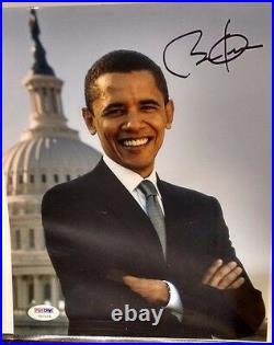 Barack Obama Signed 8x10 Photo 2007 PSA/DNA Authentic Signature RARE Item Senate