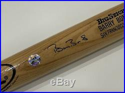Barry Bonds Signed Autograph Rawlings Adirondack Big Stick Bat PSA DNA