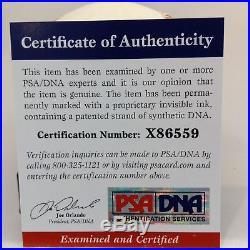 Beautiful Ted Lyons Signed Autographed Baseball PSA DNA COA HOF AUTO