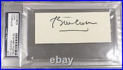 Bill Clinton Signed Autograph Psa/dna Authentic