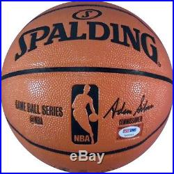 Bill Russell Autographed Basketball (PSA/DNA)