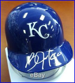 Bo Jackson Autographed Signed Kansas City Royals Mini Helmet Psa/dna 89149