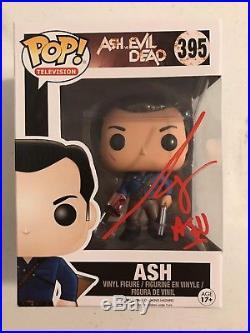 Bruce Campbell Signed Autographed Ash Vs Evil Dead Funko Pop Vinyl Psa/Dna