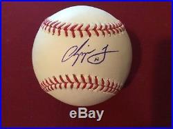 CHIPPER JONES signed Major League Baseball PSA/DNA