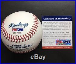 CLAYTON KERSHAW Signed Autographed OMLB Baseball PSA/DNA COA + HOLO MLB DODGERS