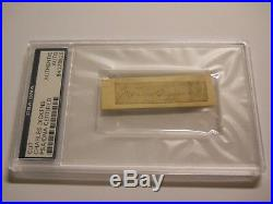 Charles Dickens Signed Cut Signature Psa/dna Authentic Auto A Christmas Carol