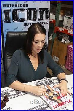 Chyna Signed November 2000 Playboy Magazine PSA/DNA WWE Diva Wrestling Autograph