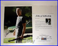Clint Eastwood Gran Torino Dirty Harry Signed Autograph 11x14 Photo PSA/DNA COA