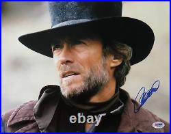 Clint Eastwood Signed Western Autographed 11x14 Photo (PSA/DNA) #Q43954