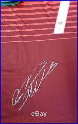 Cristiano Ronaldo Auto Autograph Signed Portugal Jersey Psa / Dna