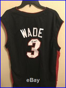 DWYANE WADE Autograph Signed Miami Heat Jersey PSA/DNA COA RARE