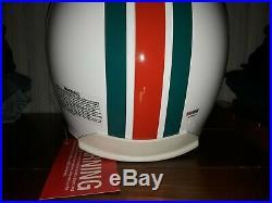 Dan Marino Signed Autographed Dolphins Full Size Authentic Helmet Hof Psa Dna
