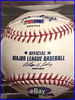 Derek Jeter Signed Autographed OMLB Baseball PSA/DNA
