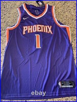 Devin Booker Phoenix Suns Autograph Signed Jersey! Psa/dna