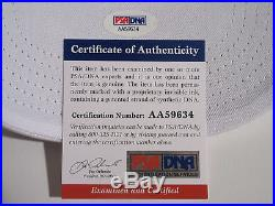 Donald Trump Signed Make America Great Again Hat Psa/dna Aa59634 Next President