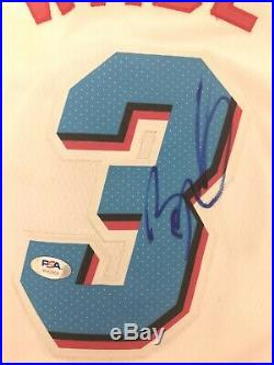 Dwayne Wade Signed Autographed Jersey PSA/DNA Heat HOF LeBron Champion
