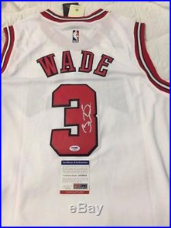outlet store 30bc4 9cd0e Psa Dna Autograph » Blog Archive » Dwyane Wade signed jersey ...