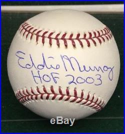 Eddie Murray Signed Baseball Hof 2003 Auto Autograph Psa/dna Coa Orioles Hof