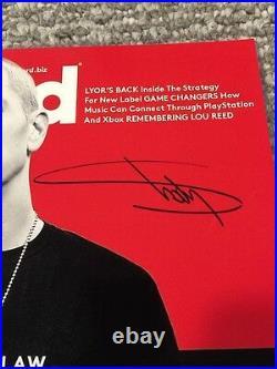 Eminem Signed Autograph Rare Vintage Shady 11x14 Photo Psa/dna Ac04887