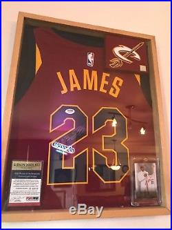 on sale 66339 3aa71 Psa Dna Autograph » Blog Archive » Framed Lebron James ...