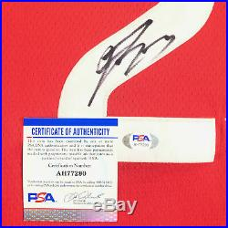 Fred VanVleet Signed Jersey PSA/DNA Toronto Raptors Autographed