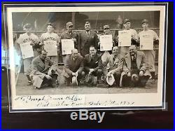 George Herman Babe Ruth Autographed Jsa Yankees 1952 Topps Mickey Mantle Psa Dna