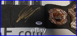 Georges St-Pierre GSP Signed UFC Toy Championship Belt PSA/DNA COA Autograph 100