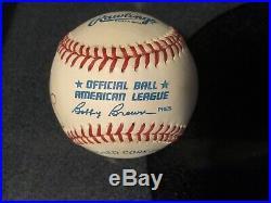Gerald Ford Autographed Baseball Psa/dna 7