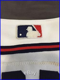 Greg Maddux Atlanta Braves Signed AUTOGRAPH Authentic JERSEY PSA DNA W35048