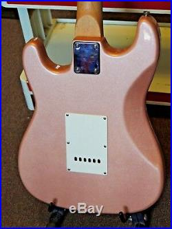 Gwen Stefani Signed PSA DNA Authentic Pink Glitter Stedman Guitar Autographed