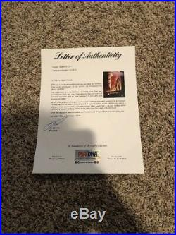 HARRISON FORD INDIANA JONES AUTOGRAPHED Signed 12x18 PSA/DNA Beckett BAS