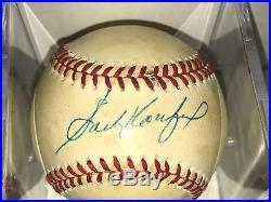 HOF Sandy Koufax Signed Autographed Baseball RARE PSA/DNA Sticker
