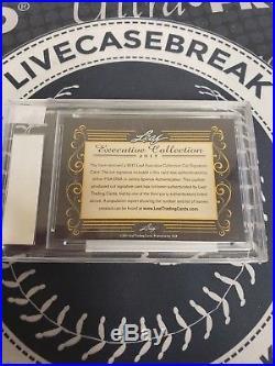 Helen Keller 1/1 Auto Autograph 2017 Leaf Executive Masterpiece Encased PSA DNA