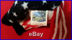 Hillary Clinton Autograph Democratic Ty Beanie Baby Lefty-psa/dna Authenticated