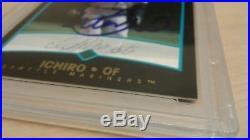 ICHIRO Suzuki 2001 Bowman Draft Picks Rookie Signature Autograph AUTO RC PSA/DNA
