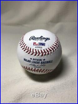 Ichiro Suzuki Autographed Major League Baseball PSA DNA Mariners Yankees