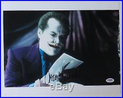 Jack Nicholson Signed Joker Authentic Autographed 11x14 Photo (PSA/DNA) #T13290