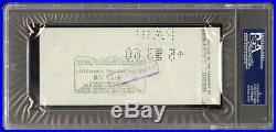 Jackie Robinson Signed Check Autograph PSA DNA encapsulated 9 Mint Auto CLEAN