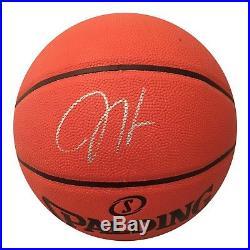 eefce358 James Harden Houston Rockets Autographed NBA MVP Signed Basketball PSA DNA  COA