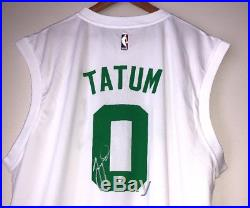Jayson Tatum Autographed Boston Celtics Signed NBA Jersey PSA/DNA RookieGraph