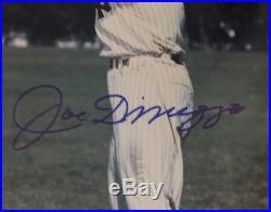 Joe DiMaggio Autographed 8x10 Picture PSA/DNA Certified