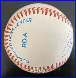 Joe DiMaggio Signed Baseball PSA/DNA FULL LETTER Gorgeous Autograph Ball