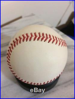 Joe DiMaggio autographed baseball official MLB American League Rawlings PSA DNA