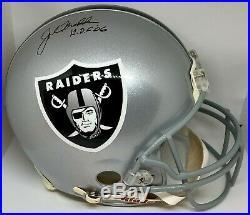 John Madden Signed Autographed Oakland Raiders Pro Line Helmet PSA/DNA N97247