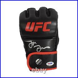 Jon Jones Signed UFC MMA Glove Red Trim (PSA)