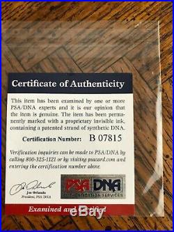 KOBE BRYANT Full Name SIGNED AUTOGRAPHED Lakers Jersey #8 PSA/DNA AUTHENTICATED