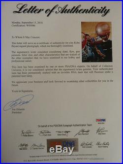 KOBE BRYANT Signed Autographed Framed 16x20 Photo Full PSA/DNA LOA & GAI