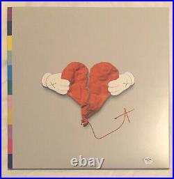 Kanye West Signed Autographed 808 And Heartbreak Vinyl Album Psa/Dna Yeezy